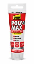 UHU POLY MAX glasklar Express Tube 75g stark, transparent, elastisch