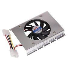 Enfriamiento de disco duro con ventiladores