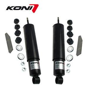 2 Rear KONI Classic Adjustable Shock Absorbers for Jaguar Mk VII VIII IX XK 140