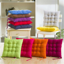 Soft Thicken Pad Chair Cushion Tie on Seat Dining Room Kitchen Office Decor Hot