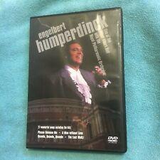 ENGELBERT HUMPERDINCK DVD. LIVE AT ROYAL ALBERT HALL. PHILHARMONIC ORCHESTRA