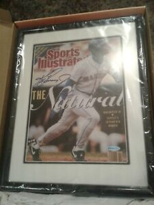 Ken Griffey Jr Autographed THE NATURAL SEATTLE MARINERS HOF COA UDA