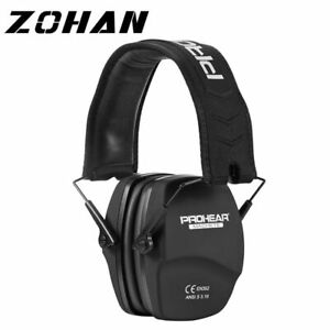 Ear Protection Shooting Headphones 26dB Noise Reduction Safety Hunting Earmuff