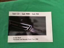 Genuine Saab Service Book. Covers All 1990 Models Unused Brand New