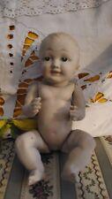 Bambola bebè tedesca, celluloide verniciata