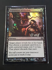 INDAGINI DI KOZILEK - INQUISITION OF KOZILEK ENG FOIL  bended on the bottom [MF]