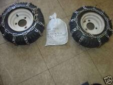 Tire Chains FITS Ariens Toro MTD Lawnboy Jacobsen Snowblower Snow Blower