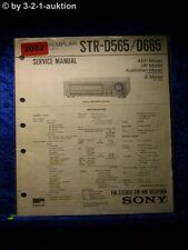 Sony Service Manual STR D565 / D665 Receiver (#2062)