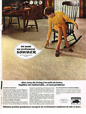 PUBLICITE  1967   SOMMER  moquette tapis 1