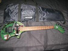 2001 Limited Edition STAR WAR BOBA FETT FERNANDES NOMAD Amplified Travel Guitar