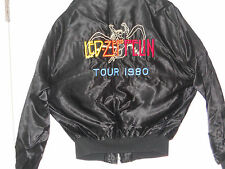 Led Zeppelin-SALE-Satin jacket embroidered 1980-BRAND NEW-never worn Size 42