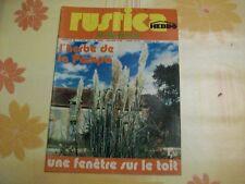 RUSTICA N°190 19 AOUT 1973 HERBE DE PAMPA - FENETRE SUR LE TOIT