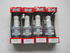 4 L5 Spark Plugs fit BSA Sunbeam B1 Francis Barnett Dot Douglas equiv NGK B7HS