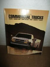 1995 Chevrolet Commercial Trucks Brochure/Pamphlet : Pickups, Chassis-Cabs, Spor