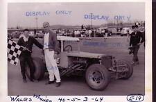 WALES MODIFIED 1964-RACING PHOTO WINNER