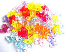 15 MIXED BEAUTIFUL LARGE BUTTERFLY BEADS + FAST FREE SHIPPING