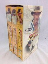 Indiana Jones Trilogy Vhs Set Raiders Ark Temple Doom Last Crusade