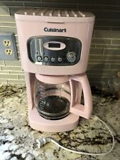 Pink Series Cuisinart 12 Cup Programmable Coffee Maker Fair Working Condition