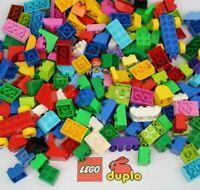 0.5 KG OF GENUINE LEGO DUPLO BRICKS + 2 VEHICLES & 1 FIGURE - 500g (1/2kg) DUPLO