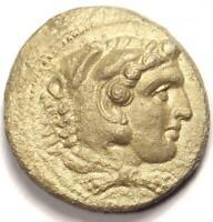Alexander the Great III AR Tetradrachm Coin 336-323 BC - XF (Extremely Fine)