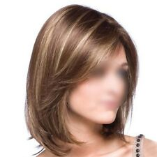 Women's Middle Long Hair Fashion Synthetic Full Wig Natural Cosplay Party New