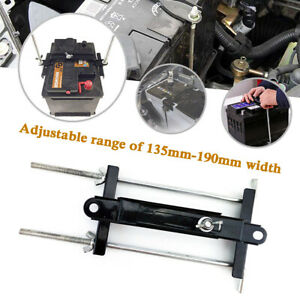 Adjustable Battery Retaining Holding Clamp Bracket Bolt Tie Down Kits Car Boat