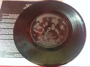 "QUEEN 7"" EP excerpts THE WORKS flexi disc 1984 Israeli promo RADIO GAGA"