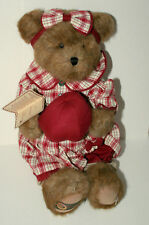 """Boyds Corinna Applebeary Bear Teddy Plush 15"""" New in bag Tags NOS 2006 Exclusive"""