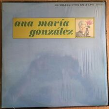 ANA MARIA GONZALEZ ALBUM DE ORO MEXICAN 1977 LP BOLERO