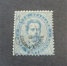 nystamps Italian Eritrea Stamp # 6 Used $55   F19x2980