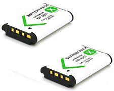 2x Battery Pack for Sony Cyber-shot DSC-HX300 DSC-WX350 DSC-WX300 Digital Camera