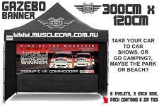 Musclecar Bathurst Winner 1984 Big Banger Gazebo banner / flag