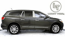 Buick Enclave Stainless Steel Chrome Pillar Posts by Luxury Trims 2008-2017 8pcs