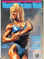 Women's Physique World Magazine March/April 1996 Caron Hospedales EX 051316jhe
