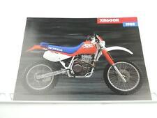 NOS 1988 Honda XR600R XR600 Dealer Brochure L1088