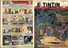TINTIN 1951 FR n° 151 13/09/1951 BE+/TBE