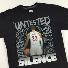 Lebron James Cleveland Cavaliers Silence the Critics Large Shirt by Majestic