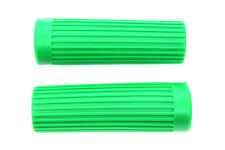 Green Grip Set Original Rib Style For Harley-Davidson