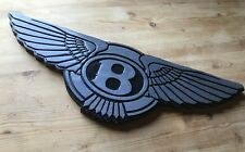 Bentley 3D routed carved wood bar pub sign car automotive Custom