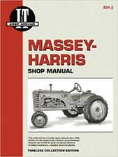 Massey-Ferguson 20 22 30 44 55 81 82 101 102 201 202 203 Pony i&t Manuel MH2