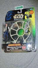 Star Wars POTF Collection Gunner Station Millenium Falcon Han Solo Figure Set