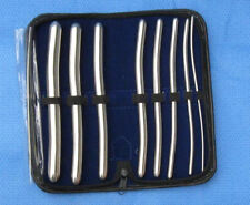 Stainless Steel Hegar Dilators Set 8-Pieces Gynecology Surgical Instruments