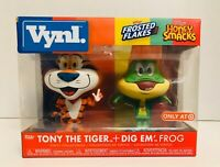 Funko VYNL Ad Icons Tony the Tiger Dig Em' Frog Target Exclusive 2 Pack