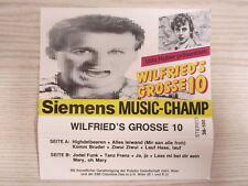 MC / Wilfried – Udo Huber Präsentiert: Wilfried's Grosse 10  / 1984 / / RAR /
