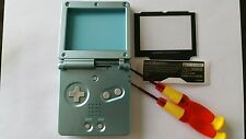 Case Full + Screen Compatible Game Boy Advance Sp Soft Green New / New
