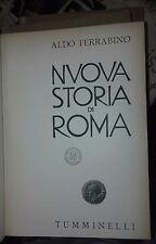 FERRABINO Nuova storia di roma 1942 Tumminelli