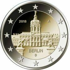 Pièces de 2 euros d'Allemagne année 2018