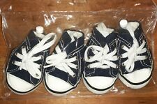 """MAO Dog Puppy Shoes Lace Up Sneakers Paw Protection Size 5 Soles 2 1/2"""""""