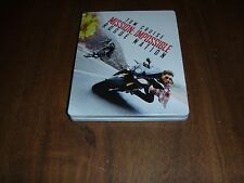 Mission Impossible Rogue Nation with Tom Cruise (Blu-Ray/DVD in Steelbook Case)