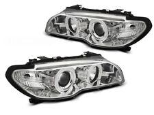 Faros lpbmh 4 para bmw e46 03-06 coupe convertible Angel eyes CCFL Xenon nuevo